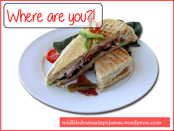 A funny blog post about making lunch for a friend, from Midlife Dramas in Pyjamas