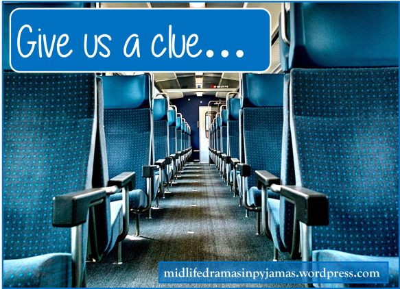 A funny blog post about a train journey, from Midlife Dramas in Pyjamas