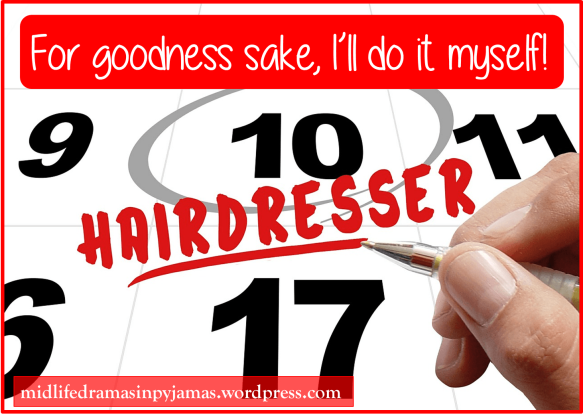 A funny blog post about a visit to the hairdresser,from Midlife Dramas in Pyjamas