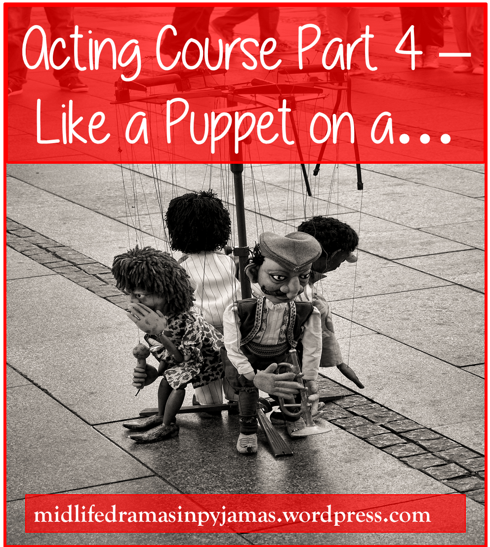 A funny blog post about going on an acting course, from Midlife Dramas in Pyjamas