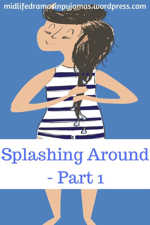 A funny blog post about going swimming from blogger, Midlife Dramas in Pyjamas
