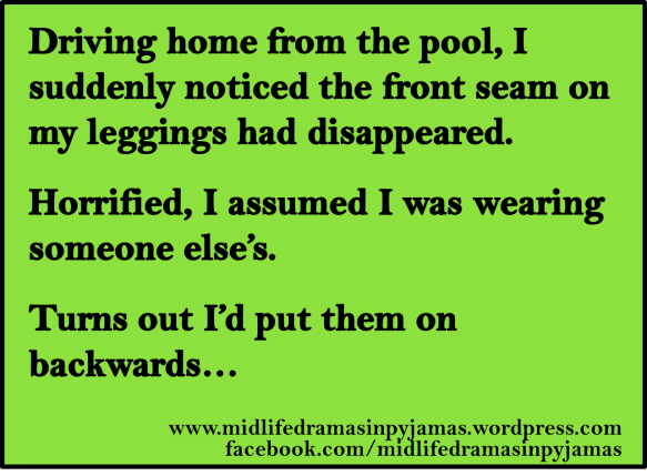 A funny MEME about being forgetfull from humour blogger, Midlife Dramas in Pyjamas