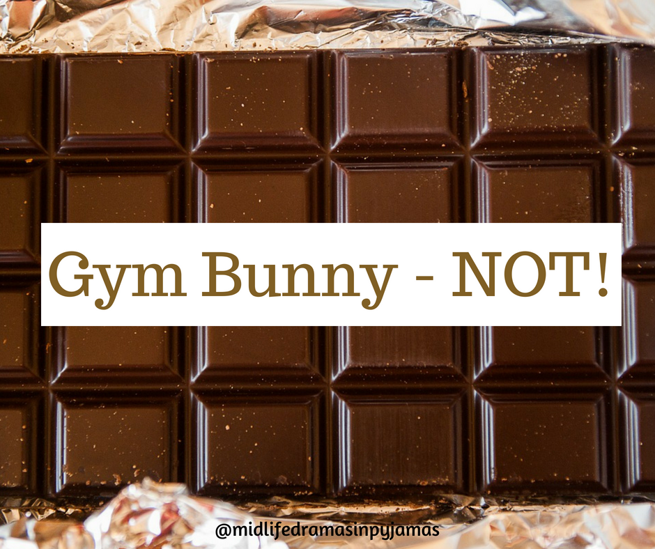 A funny blog ppst abput gping to the gym, from midlife blogger Midlife Dramas in Pyjamas